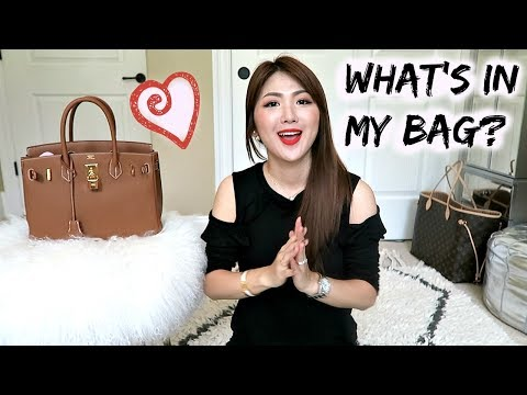 HERMES BIRKIN 30 🍊WHAT FITS + FIRST IMPRESSION + BAG ORGANIZER