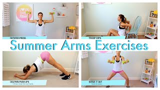 How To | Summer Arms Exercises