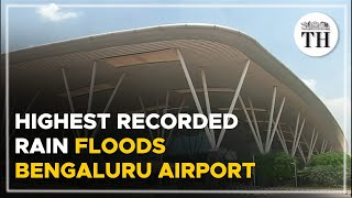 Bengaluru airport flooded after highest-ever rainfall in a decade