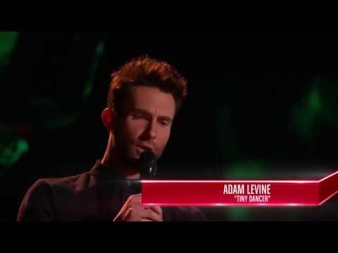 Khi Adam Levine đi thi The Voice...