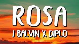J Balvin - Rosa (Letra/Lyrics)