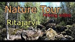 Ritajärven luonnonsuojelualue- Vaellusvideo suomesta