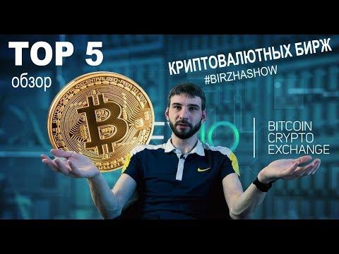 Биржи криптовалют обзор ТОП 5 лучших бирж от Birzha Show   Биржа шоу