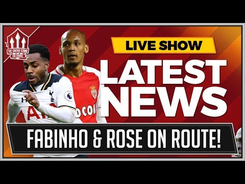 FABINHO & Danny ROSE To MANCHESTER UNITED In January! MANCHESTER UNITED Transfer News