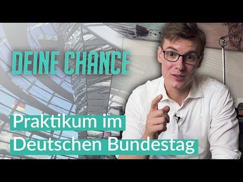 Deine Chance - Praktikum im Bundestag