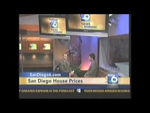 San Diego House Prices,  T.V. Interview San Diego 6 and Brian Yui