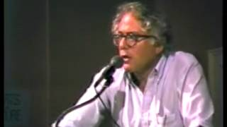 Bernie Sanders: Mayoral Address on Nicaragua (7/10/1985)