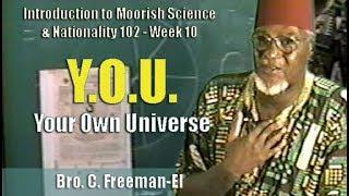 Bro. C. Freeman-El | Y.O.U. - Your Own Universe - Pt. 1/2 (25Jul97)