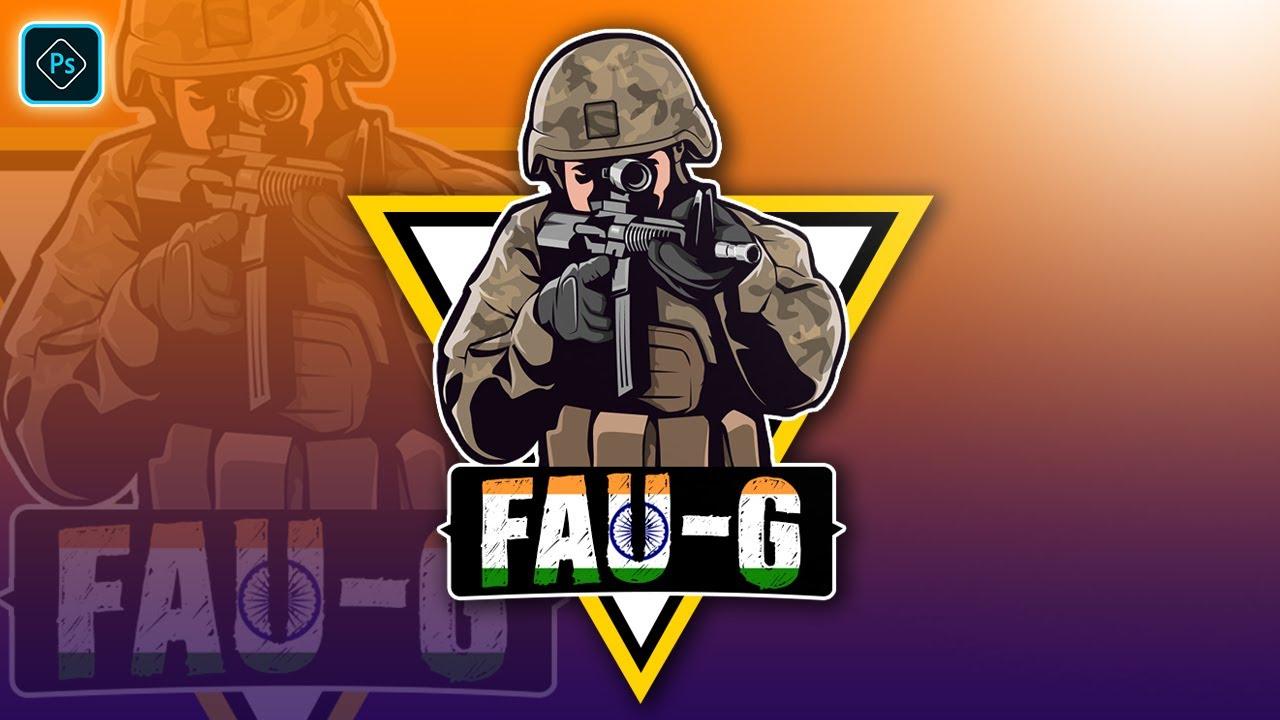 How To Make Gaming Logo In Photoshop CC Fau-G Gaming Logo Design