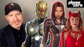 Marvel's Kevin Feige Talks WandaVision, Black Widow, Nova, and Phase 4