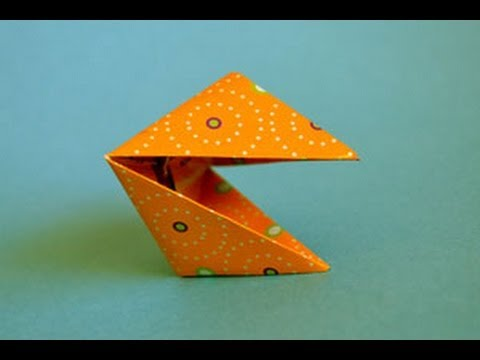 origami snapper printable instructions