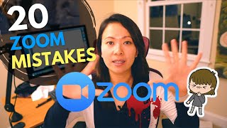 20 Zoom Mistakes You Should Know (and How to Fix Them) #feisworld #zoom #zoommistakes