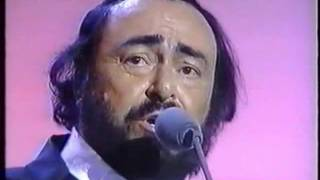 Baby Can I Hold You Tonight   Pavarotti and Tracy Chapman Live