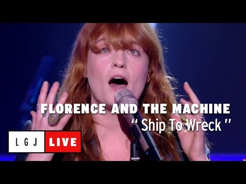 Florence and the Machine - Ship To Wreck - Live du Grand Journal