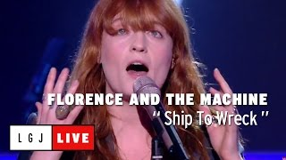 Florence And The Machine Ship To Wreck Live Du Grand Journal