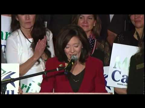 Maria Cantwell Victory Speech