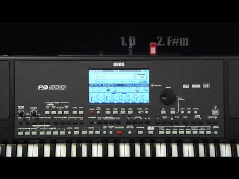 Korg Pa600 Video Manual -- Part 6: Recording a Song