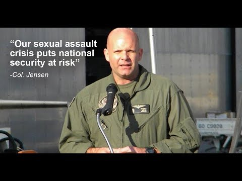 Col. Jensen joins movement to end sexual violence in the military