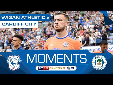 HIGHLIGHTS | WIGAN ATHLETIC v CARDIFF CITY