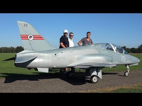 xxxl-bae-hawk-1/2.5-scale---test-flight