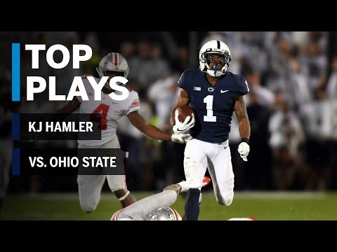 Top Plays: KJ Hamler vs. Ohio State Buckeyes | Big Ten Football