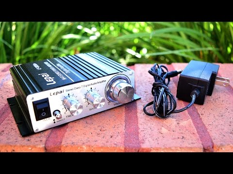 Amplificador De Sonido Chino Economico / Casero !