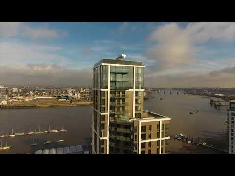Greenwich Peninsula Balconies By Drone