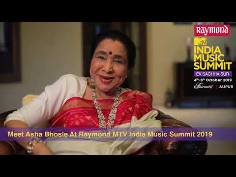 Asha Bhosle On Raymond MTV India Music Summit 2019