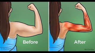 4 Mins To Sexy Arms / Best Exercises To Lose Arm Fat Fast