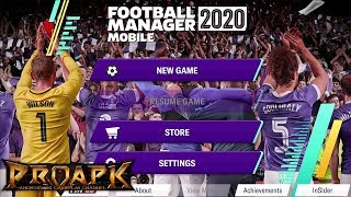Football Manager 2020 Mobile Gameplay Android / iOS