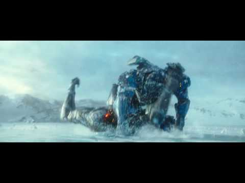 PACIFIC RIM UPRISING Clip: Gypsy Avenger and Obsidian Fury battle in the arctic