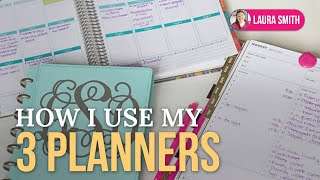 How I Use 3 Planners and My Weekly Planning Sessions Thumbnail