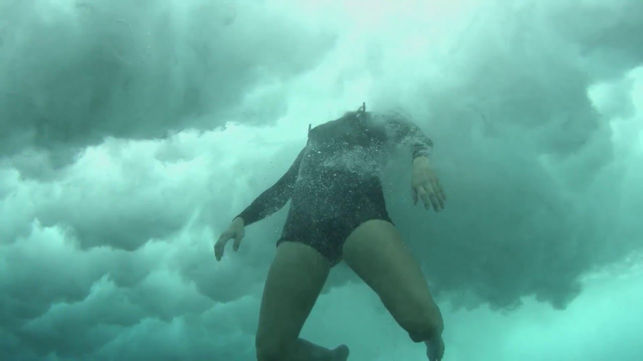 Inside A Big Wave Wipeout Youtube