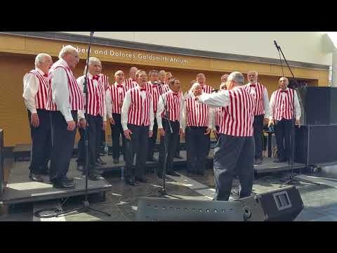 Long Island Harmonizers sing What a Wonderful World