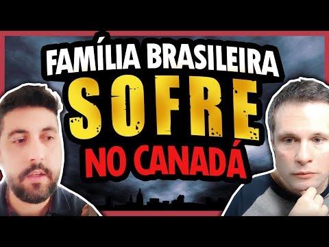SOFRIMENTO NO CANADÁ CONTINUA PARA ESTA FAMÍLIA BRASILEIRA - Entrevista com André Cerqueira Martins