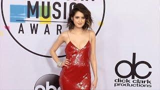 Laura Marano 2017 American Music Awards Red Carpet