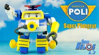 ROBOCAR POLI Action Pack Poli Plongeur Robot Transformable 로보카폴리 Jouet Toy Unboxing