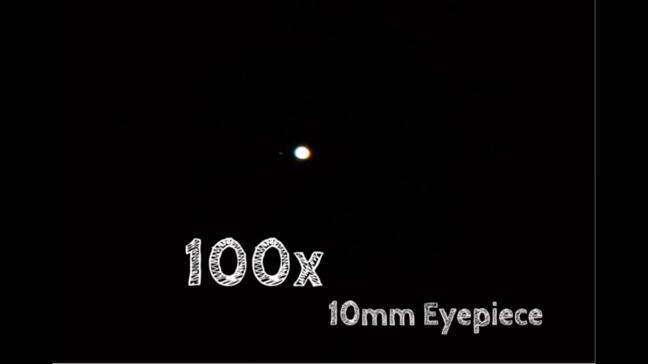 Jupiter Through Celestron Astromaster 114eq Telescope