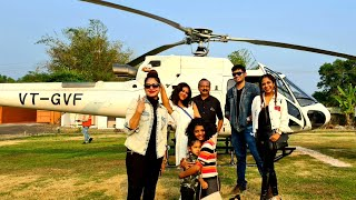 Our First Private helicopter ride in cochin