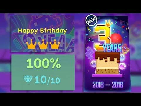 Rolling Sky - Happy Birthday (6 Star Level)
