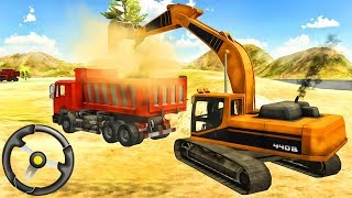 Heavy Excavator Simulator Pro - Driving Construction Vehicles | Android Gameplay