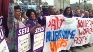 PA Nursing Home Workers Fight for $15
