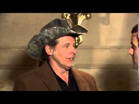 Ted Nugent reacts to an interviewer with an agenda - Feb 13, 2013