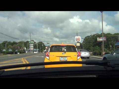 Time Lapse. Driving around Panama City, Florida II