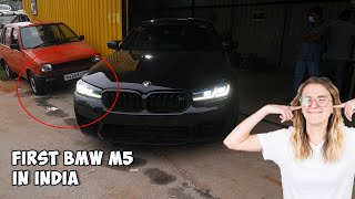 Loud BMW Scares Everybody In INDIA