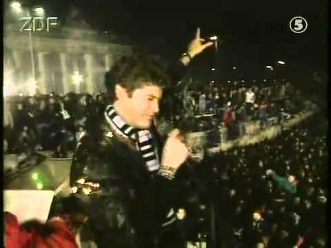 Image result for david hasselhoff berlin wall