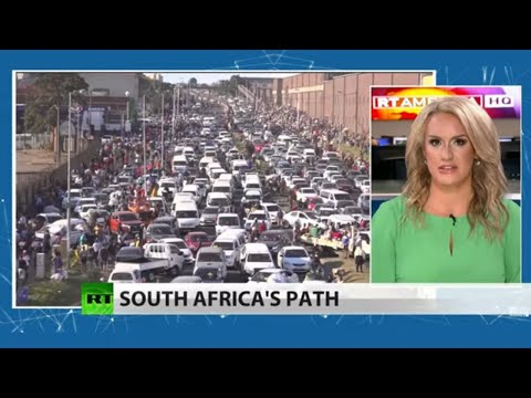 History prof says US to blame for South African turmoil (Full show)