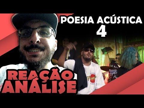 POESIA ACUSTICA #4 - BOB, MV BILL, FROID, DJONGA, AZZY E DELACRUZ [REAÇÃO/ ANÁLISE] | FALATUZETRÊ