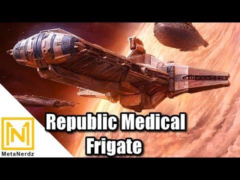 Republic Medical Frigate - Pelta-class Frigate & Pheonix Home Explained - Star Wars Clone Wars Lore