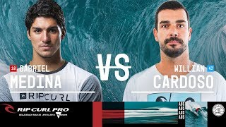 Gabriel Medina vs. Willian Cardoso - Round Three, Heat 12 - Rip Curl Pro Bells Beach 2018